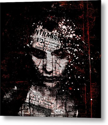 Sad News Metal Print