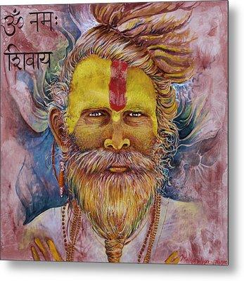 Sadhu Metal Print
