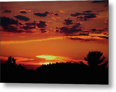 Metal Print featuring the photograph Sadie's Sunset by Bruce Patrick Smith