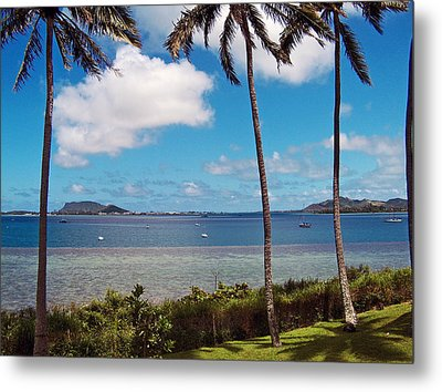 Metal Print featuring the photograph Safe Harbor by Anthony Baatz