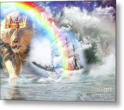 Safe Harbor  Metal Print by Dolores Develde