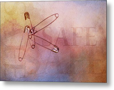 Safe With Me Metal Print by Terry Davis