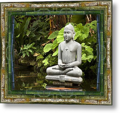 Sage Of Peace Metal Print by Bell And Todd