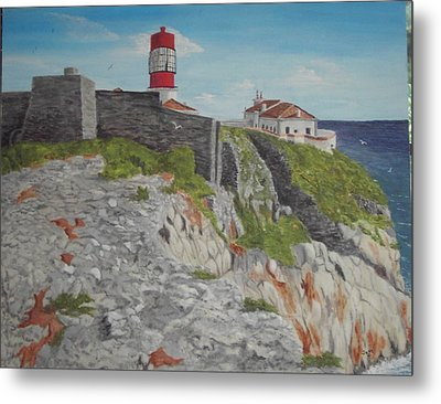 Sagres Portugal Metal Print by Hilda and Jose Garrancho