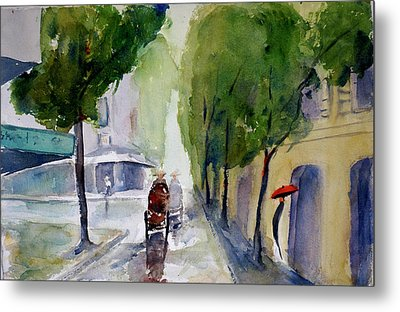 Saigon 1967 Tu Do Street Metal Print