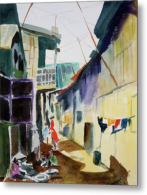 Saigon Alley Metal Print by Tom Simmons