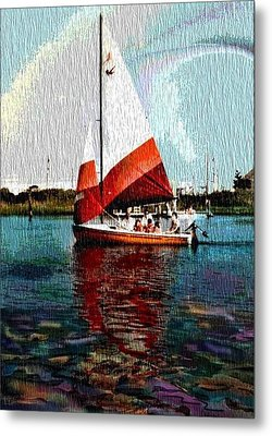 Sail Along On The Sea Metal Print