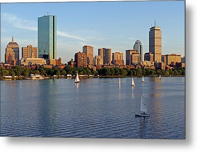 Sail Boston Metal Print