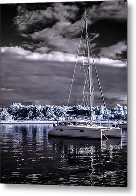 Sailboat 02 Metal Print