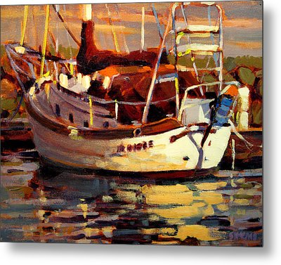 Sailboat Metal Print by Brian Simons