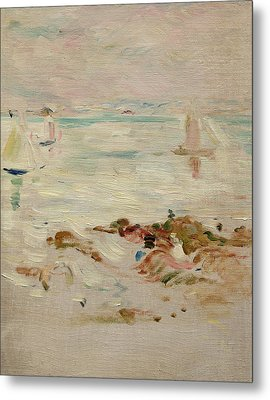 Sailboats Metal Print by Berthe Morisot