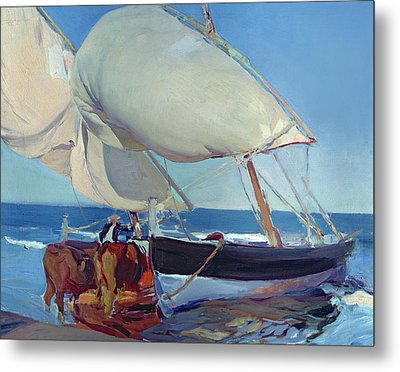 Sailing Boats Metal Print