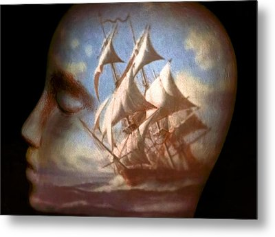 Metal Print featuring the photograph Sailing by Jeff  Gettis