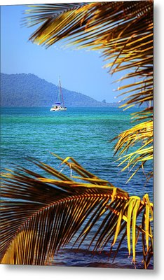 Metal Print featuring the photograph Sailing Vacation by Alexey Stiop