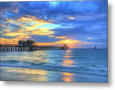 Metal Print featuring the digital art Sailor's Delight by Sharon Batdorf