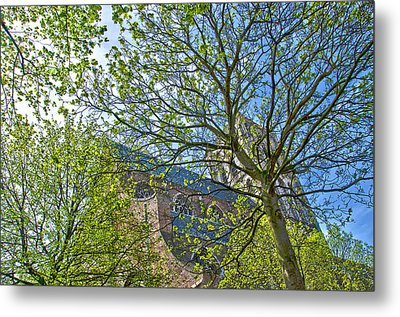 Saint Catharine's Church In Brielle Metal Print