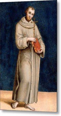 Saint Francis Of Assisi Metal Print by Raphael