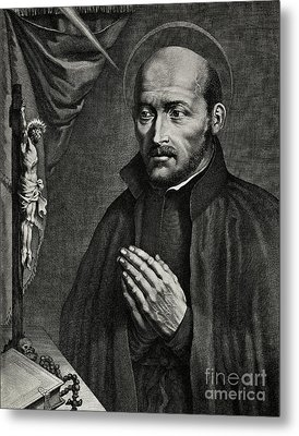 Saint Ignatius Of Loyola Metal Print by German School