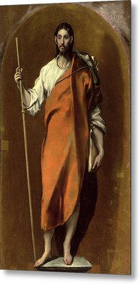 Saint James The Greater Metal Print