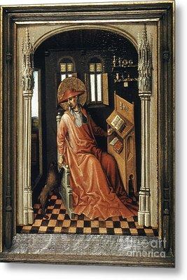 Saint Jerome (340-420) Metal Print by Granger