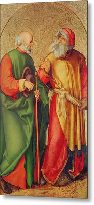 Saint Joseph And Saint Joachim Metal Print
