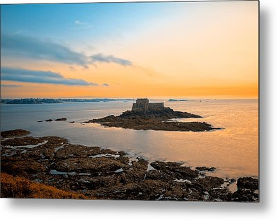 Saint-malo Twilight 2 Metal Print by Nicolas Raymond