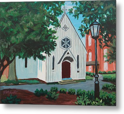 Saint Mary's Chapel Metal Print by Tommy Midyette