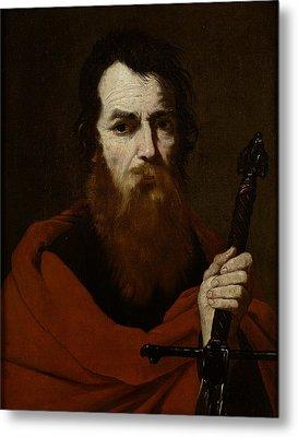Saint Paul  Metal Print by Jusepe de Ribera