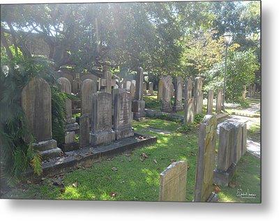 Saint Phillips Cemetery 4 Metal Print