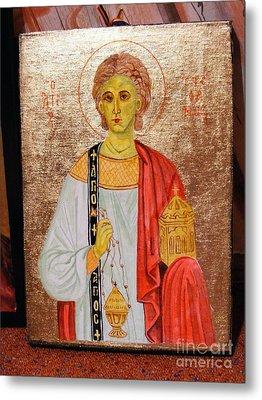 saint Stephan Metal Print by Ciocan Tudor-cosmin