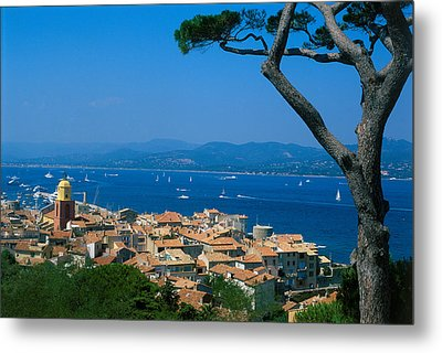 Saint-tropez - Provence Metal Print by Martial Colomb