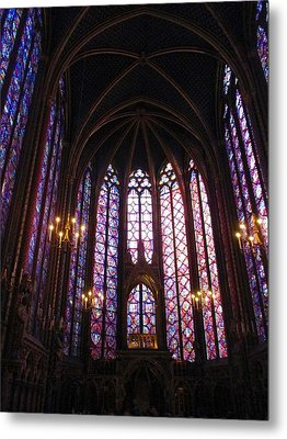 Metal Print featuring the photograph Sainte-chapelle by Christopher Kirby