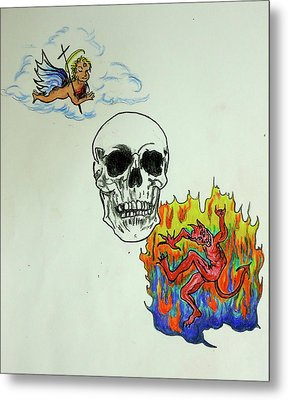 Saints And Sinners Metal Print by Pete Maier