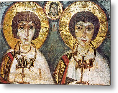Saints Sergius And Bacchus Metal Print by Granger