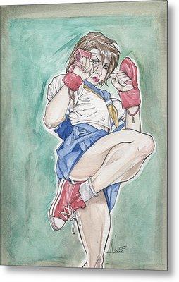 Sakura Metal Print by Jimmy Adams