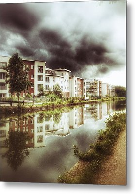 Metal Print featuring the photograph Sale Canal by Isabella F Abbie Shores FRSA