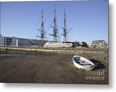 Salem Maritime National Historic Site In Salem  Massachusetts Usa Metal Print by Erin Paul Donovan