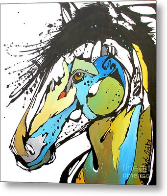 Sallie Metal Print by Nicole Gaitan