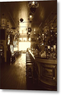 Saloon Metal Print by Lori Seaman