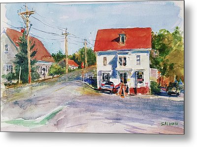 Salty Market, North Truro Metal Print