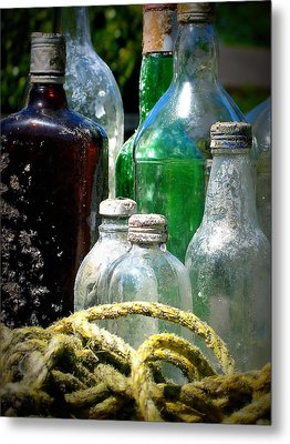 Salvaged From The Sea I Metal Print by Mg Blackstock