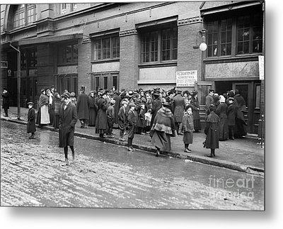 Salvation Army, 1908 Metal Print by Granger