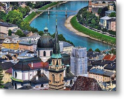 Salzburg Austria Europe Metal Print by Sabine Jacobs