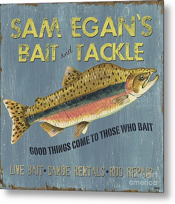 Sam Egan's Bait And Tackle Metal Print by Debbie DeWitt