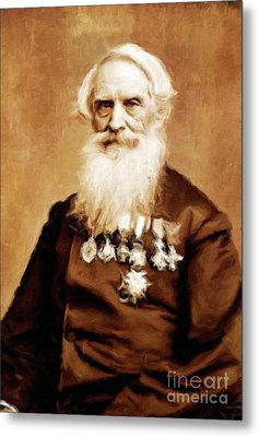 Samuel Morse, Inventor And Painter, By Mary Bassett Metal Print