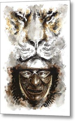 Samurai - Warrior Soul. Metal Print by Mariusz Szmerdt