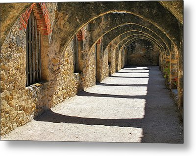 Metal Print featuring the photograph San Antonio Mission San Jose by Gregory Ballos