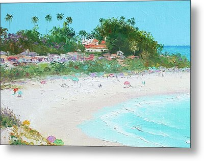 San Clemente Beach California Metal Print by Jan Matson