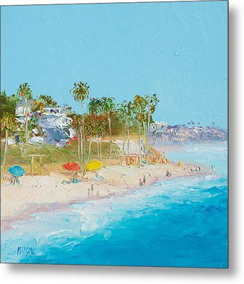 San Clemente Beach Metal Print by Jan Matson