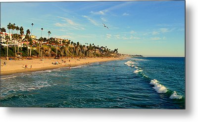 Metal Print featuring the photograph San Clemente Coastline - California by Glenn McCarthy Art and Photography